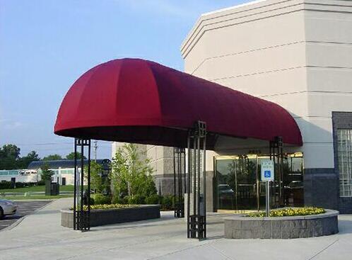 写字楼、工厂企业安装欧式篷