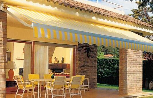 咖啡店安装济南遮阳篷